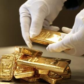 GERMANY, Munich, pro aurum gold house Munich: 500g and 1000g gold bullion (999,9 fine gold).