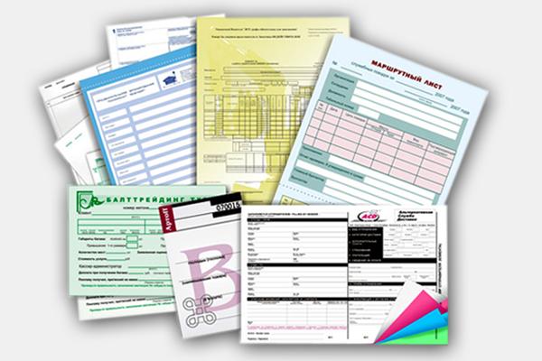 2 Печать бланков для ведения документооборота и позиционирования в бизнесе